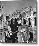 Jazz Scooter Metal Print