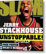 Jerry Stackouse: Unstoppable! SLAM Cover Metal Print