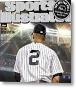Jeter On Jeter The Exit Interview Sports Illustrated Cover Metal Print