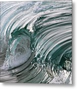 Jibbon Wave Metal Print