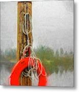 Jim Bouys Pole Metal Print