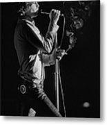 Jim Morrison Live Metal Print
