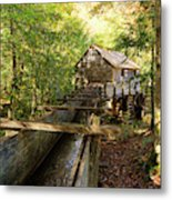John Cable Mill In Cades Cove Historic Area In The Smoky Mountains Metal Print