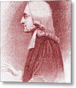 John Wesley, Anglican Minister And Christian Theologian Metal Print