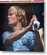 Johnny Miller, 1973 Us Open Sports Illustrated Cover Metal Print
