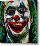 Joker Joaquin Phoenix Metal Print