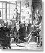 Joseph Black Visiting James Watt Metal Print