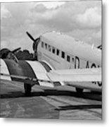 Ju-52 Taxing Metal Print
