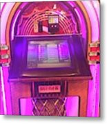 Jukebox Hero Metal Print