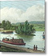 Junction Of Regents Canal At Paddington Metal Print