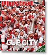 June 16, 2008 Sports Illustrated... Sports Illustrated Cover Metal Print