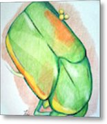 June Bug Metal Print