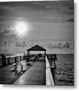 Juno Pier Bright And Sunny Metal Print