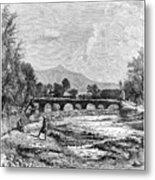 Kabul River, Afghanistan, 1895 Metal Print