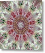 Kaleidoscope Valentine  Metal Print