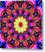 Kaleidoscopic Metal Print