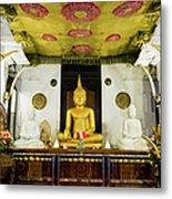 Kandy Sri Lanka Dalada Maligawa Metal Print