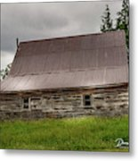 Kansas Barn Metal Print