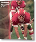 Kansas City Chiefs Qb Len Dawson, Super Bowl Iv Sports Illustrated Cover Metal Print