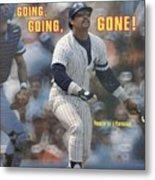 Kansas City Royals V New York Yankees Sports Illustrated Cover Metal Print