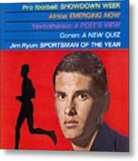 Kansas Jim Ryun, 1966 Sportsman Of The Year Sports Illustrated Cover Metal Print