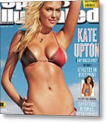 Kate Upton Swimsuit 2012 Sports Illustrated Cover Metal Print
