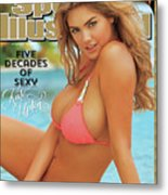 Kate Upton Swimsuit 2014 Sports Illustrated Cover Metal Print