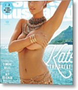Kate Upton Swimsuit 2017 Sports Illustrated Cover Metal Print