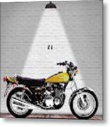 Kawasaki Z1 Metal Print