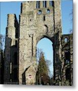 Kelso Abbey Ruin Metal Print
