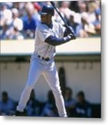 Ken Griffey Jr. Mariners Metal Print