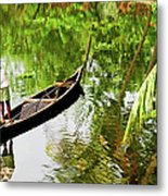 Kerala Backwaters Metal Print