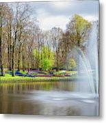 Keukenhof Tulip Garden Holland Metal Print