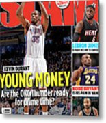 Kevin Durant: Young Money SLAM Cover Metal Print