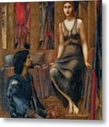 King Cophetua And The Beggar Maid 1884 Metal Print