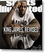 King James, Revised Sports Illustrated Cover Metal Print