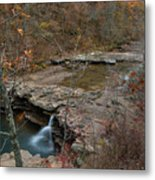 Kings River Waterfall Metal Print