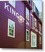 Kingston Flour Mill House Metal Print