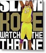 Kobe: Watch the Throne SLAM Cover Metal Print