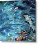 Koi Fish3 Metal Print