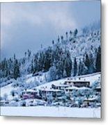 Koprivshtica Winter Panorama Metal Print