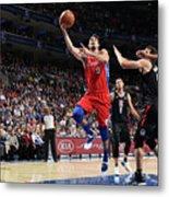 La Clippers V Philadelphia 76ers Metal Print