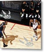 La Clippers V Toronto Raptors Metal Print