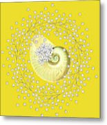 Lacy Look Shell Metal Print