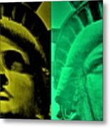 Lady Liberty For All Metal Print
