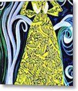 Lady Lou Metal Print