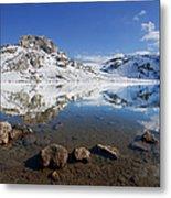 Lake La Ercina Metal Print