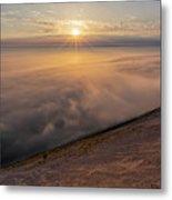 Lake Michigan Overlook 13 Metal Print