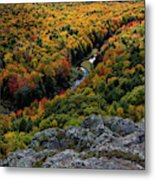 Lake Of The Clouds 7 Metal Print