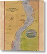 Lake Pepin Metal Print